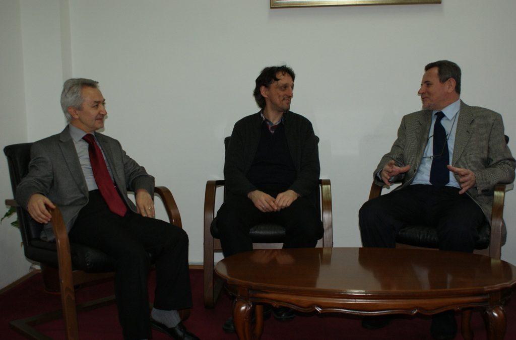 Prorektor prof.dr. Aleksandar Karač u posjeti IPF-u