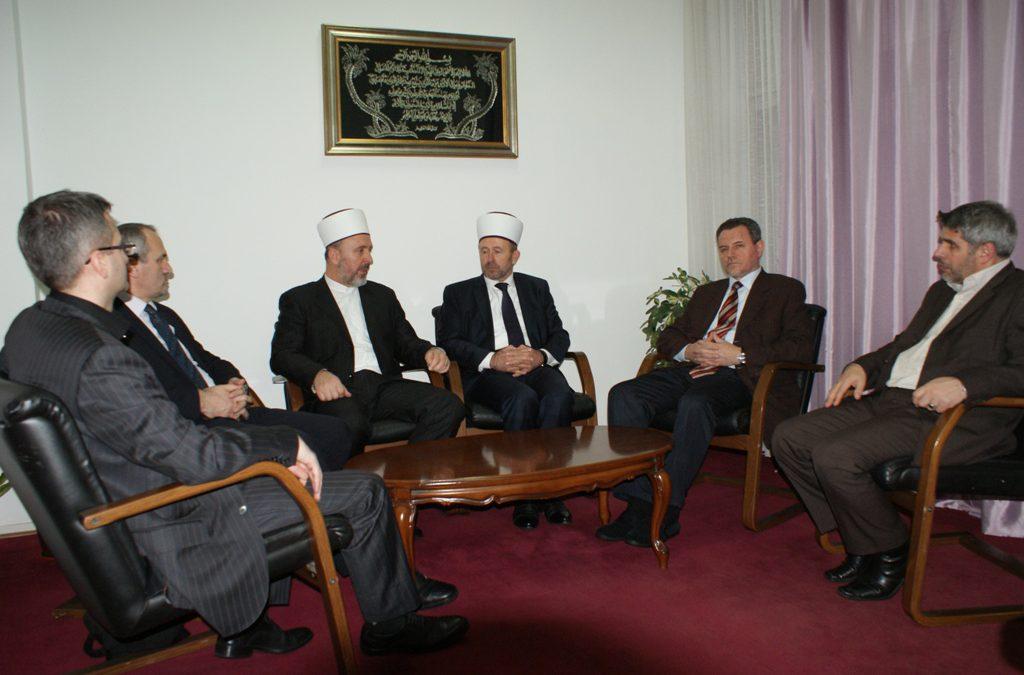 Delegacija Travničkog muftijstva u posjeti IPF-u