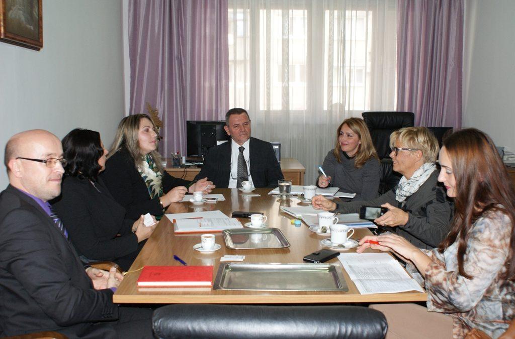 Radna posjeta delegacije Caritasa Švicarske Islamskom pedagoškom fakultetu Univerziteta u Zenici