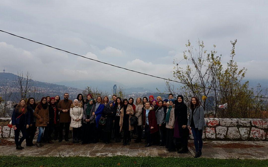 """Studenti Odsjeka za predškolski odgoj i obrazovanje u posjeti vrtiću """"Kolibica"""" u Sarajevu"""