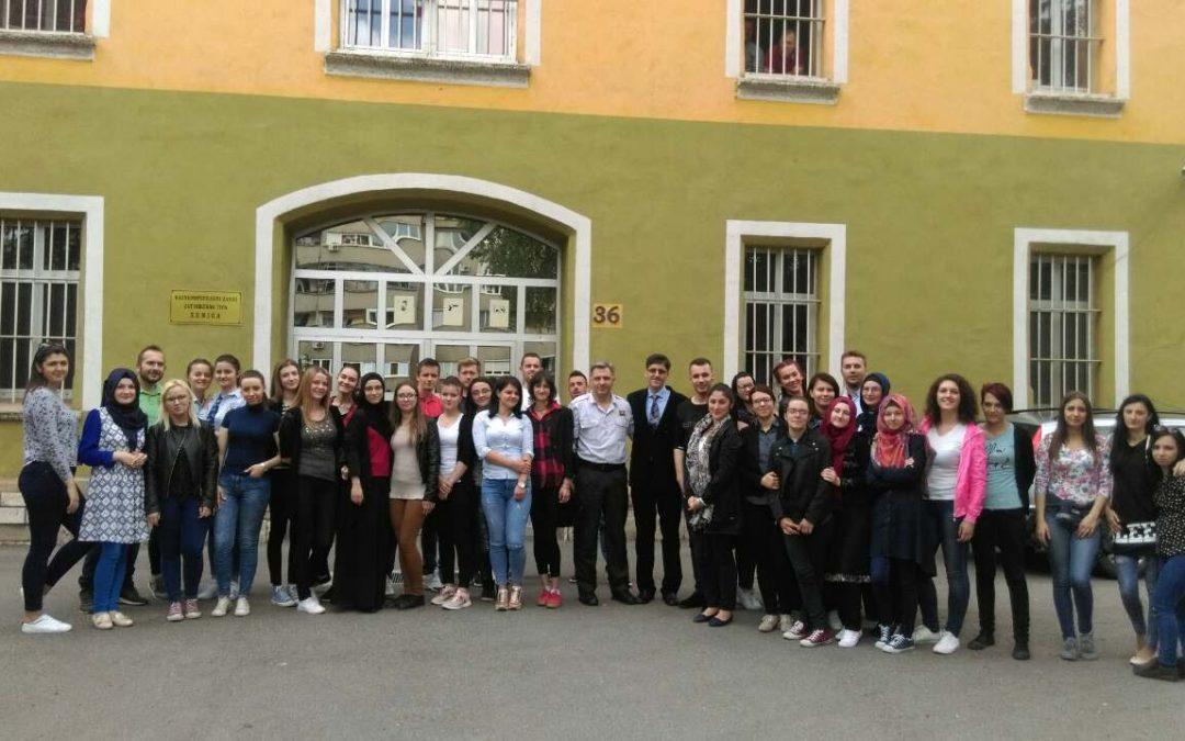 Posjeta studenata III i IV godine Odsjeka za socijalnu pedagogiju Kaznenopopravnom zavodu Zenica