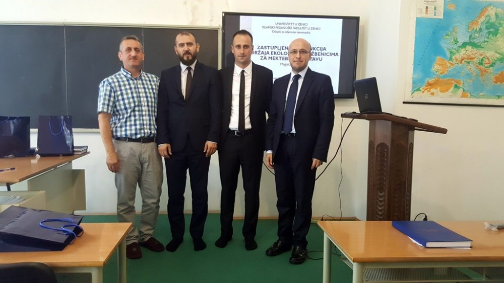 Nedim Smajlović magistrirao na Islamskom pedagoškom fakultetu Univerziteta u Zenici