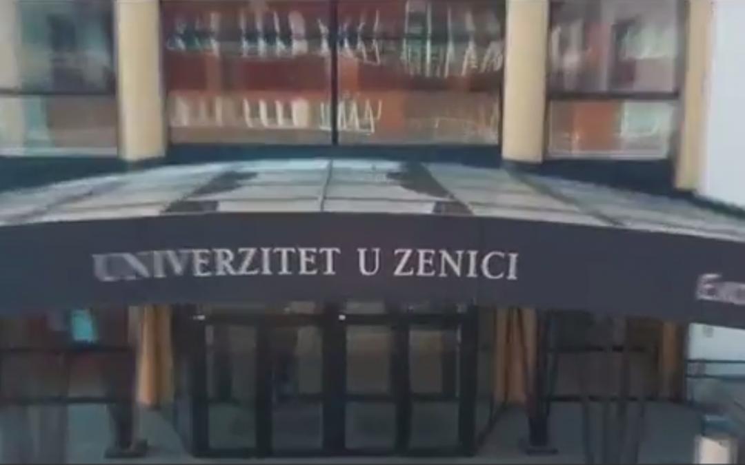 Najava Promocije završenika I i II ciklusa studija Univerziteta u Zenici 28.10.2017. godine