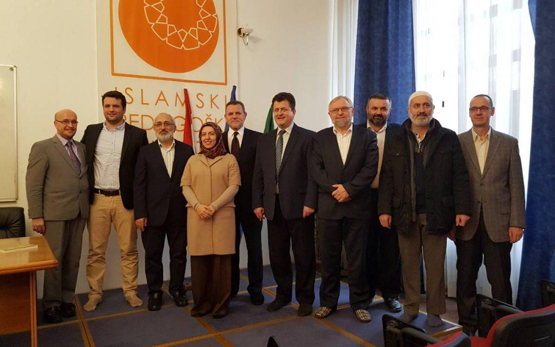 Delegacija Teološkog fakulteta Univerziteta u Istanbulu u posjeti Fakultetu i Univerzitetu u Zenici