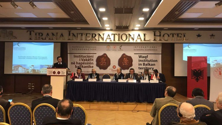 Prof. dr. Halil Mehtić na međunarodnoj naučnoj konferenciji o vakufima u Tirani