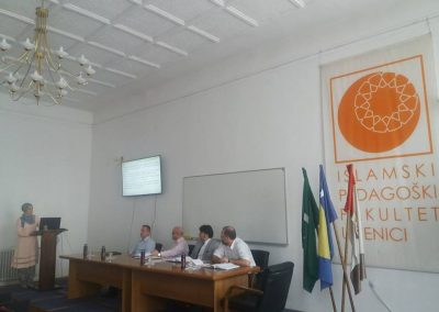 Ulfeta Gutić brani magistarsku tezu