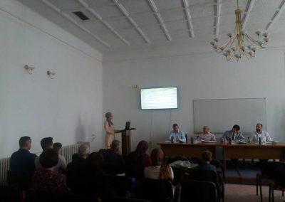 Ulfeta Gutić odbrana magistarskog rada u Zenici na IPF1