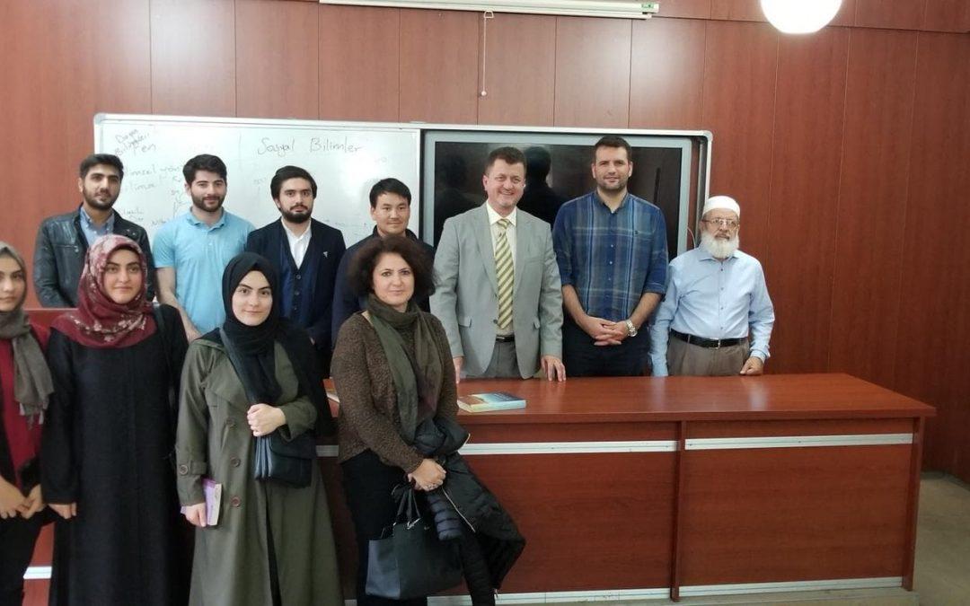 Profesor Safvet Halilović održao predavanje na Istanbulskom univerzitetu