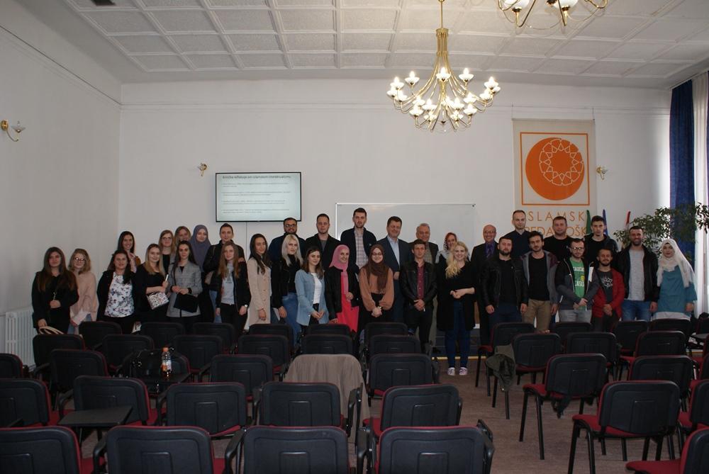 Prof. dr. Safet Bektović s Teološkog fakulteta Univerziteta u Oslu održao gostujuće predavanje