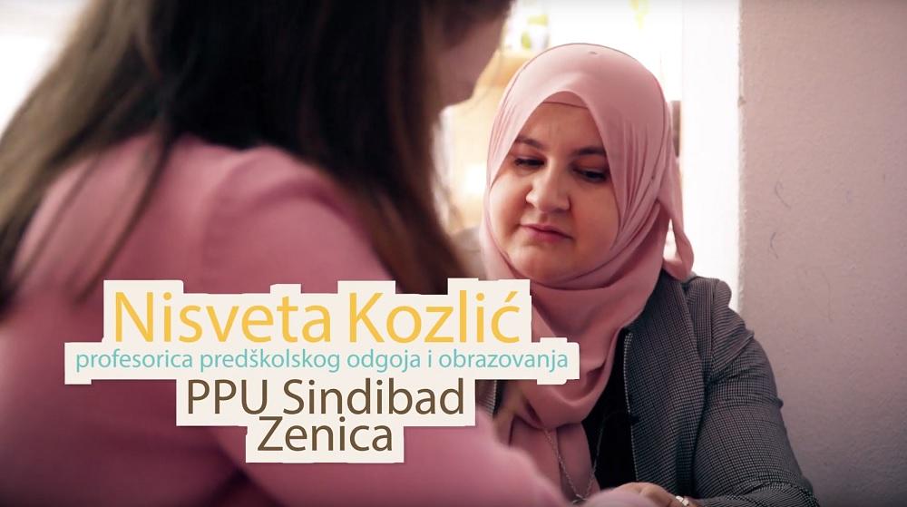 Nisveta Kozlić – pobjednica u kategoriji odgajatelji/ce