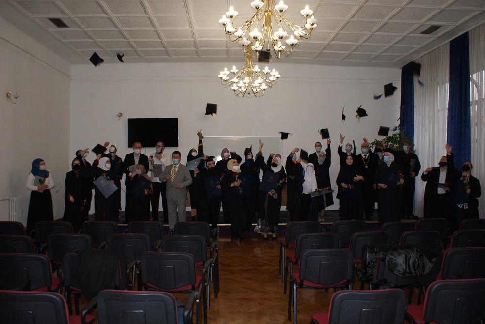 Promocija svršenika dodiplomskog i magistarskog studija Univerziteta u Zenici