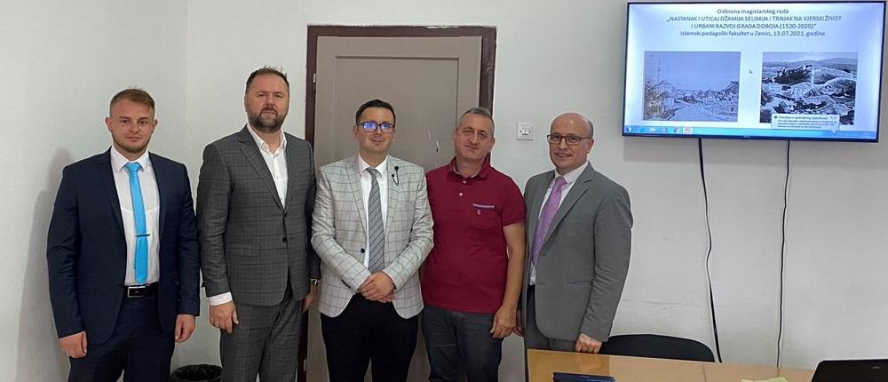 Adil Rudanović uspješno odbranio magistarski rad