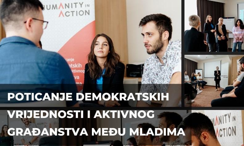 Poziv na dostavljanje prijava za učešće studenata u programu 'Poticanje demokratskih vrijednosti i aktivnog građanstva među mladima'