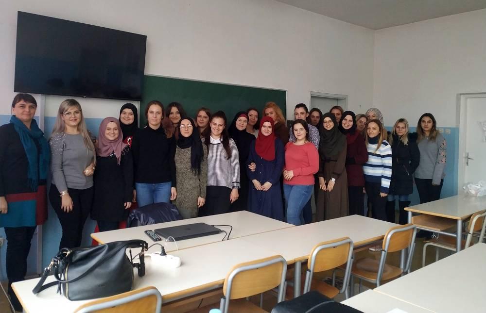 Gostujuće predavanje za studente Odsjeka za POO